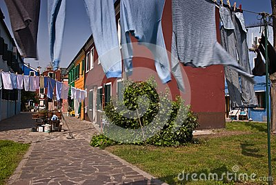 Drying of clothes