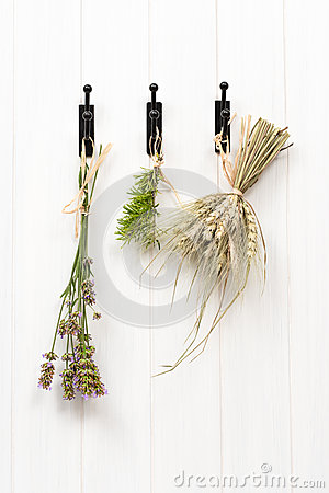 Drying Herbs & Lavender
