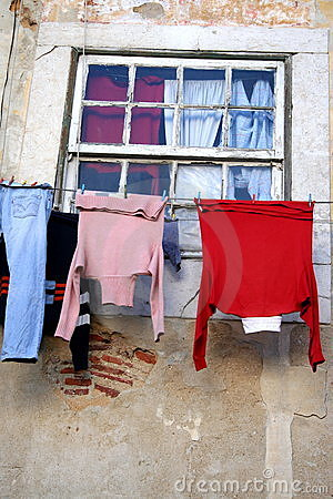 Drying loundry