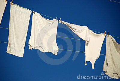 Drying underwear