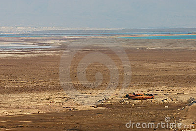 Dryness by the Dead Sea