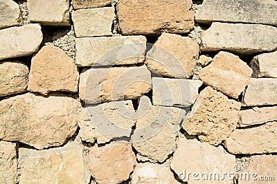 Drystone wall closeup