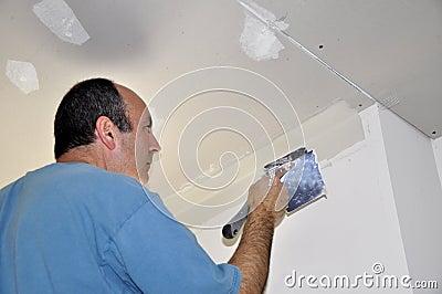 Drywall spackling