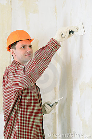 Drywall taping contractor
