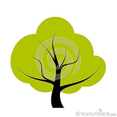 Drzewna ilustracja