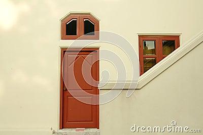 Drzwiowy okno