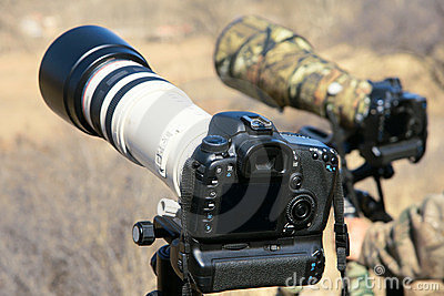 DSLR and Telephoto lens