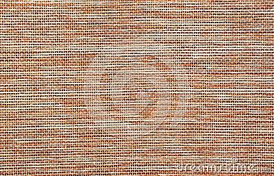 Détail rouge de surface de toile de jute