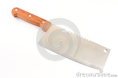 Duży kuchennego noża użyteczność