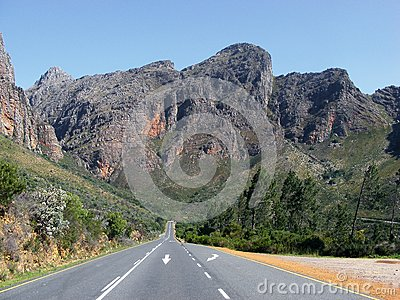 Du Toitskloof road