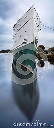 Duża łódź