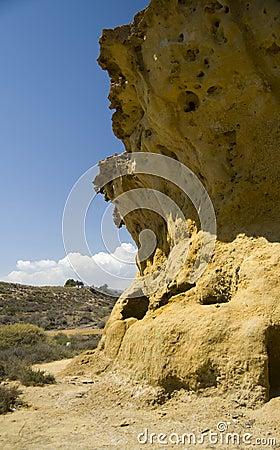 Duża skała