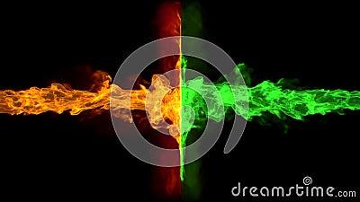 Dual flame