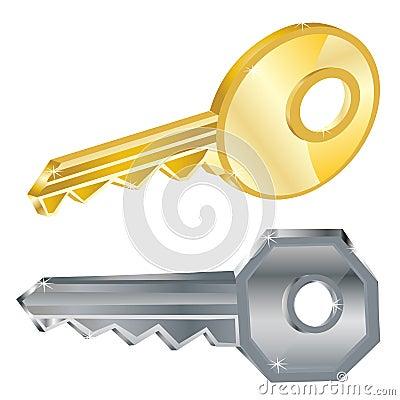 Duas chaves