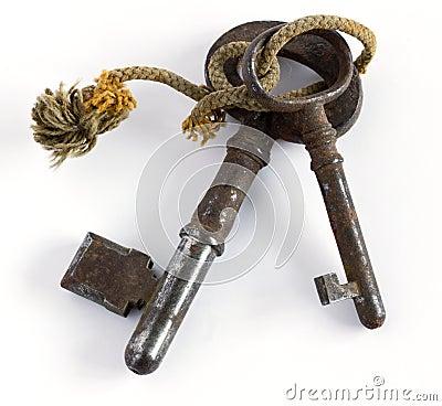 Duas chaves velhas