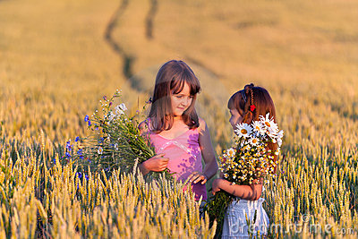 Duas meninas adoráveis