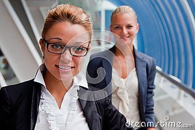 Duas mulheres de negócio