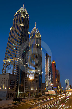 Dubai Buildings Editorial Photography