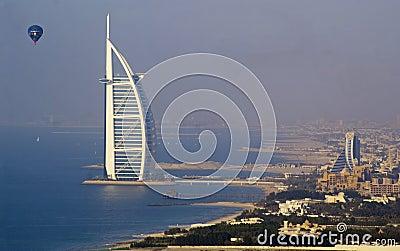 Dubai Burj Al Arab Editorial Image