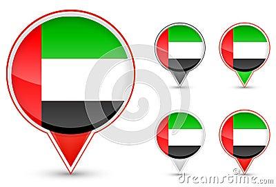 Dubai buttons