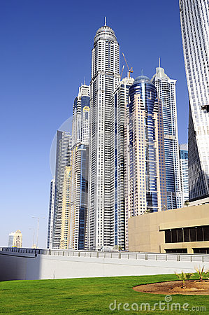Dubai city, Marina District