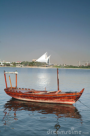 Free Dubai Creek Boat Stock Photos - 608143