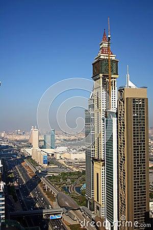 Dubai financial district Editorial Photography