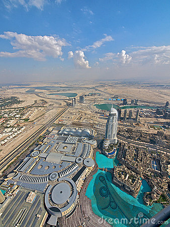 Free Dubai From Above Royalty Free Stock Image - 18001606