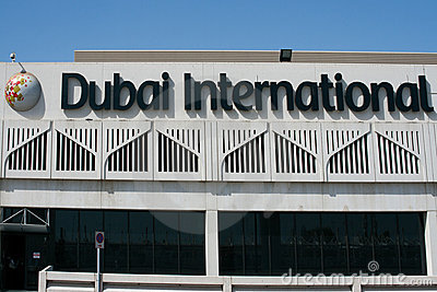 Dubai International Airport Editorial Photo