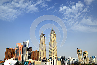 Dubai Internet City Stock Images - Image: 25492144