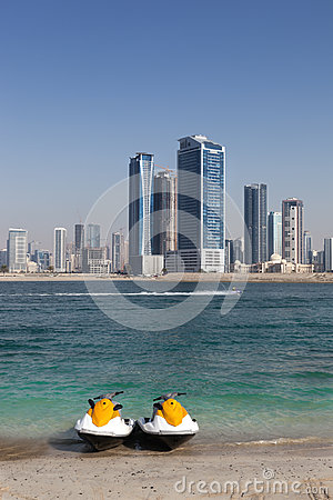 Free Dubai Jet Ski Stock Photos - 31694783