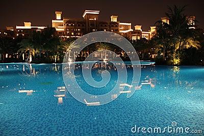 Dubai * Madinat Jumeirah * Al Qasr pool