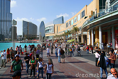 Dubai Mall Editorial Stock Image