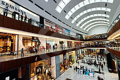 The Dubai Mall Editorial Image