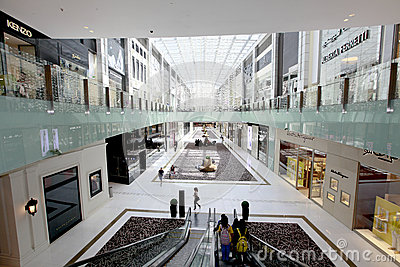 Dubai mall Editorial Image