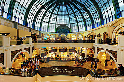 Dubai Mall of the Emirates Editorial Photography