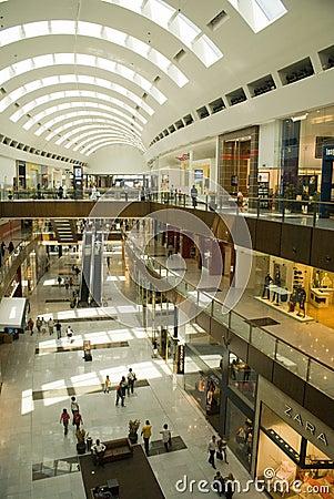 Dubai Mall inside Editorial Image