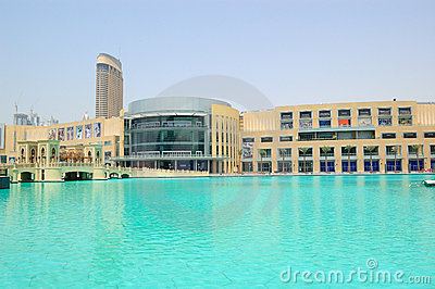 Dubai Mall world s largest shopping center, UAE Editorial Photography