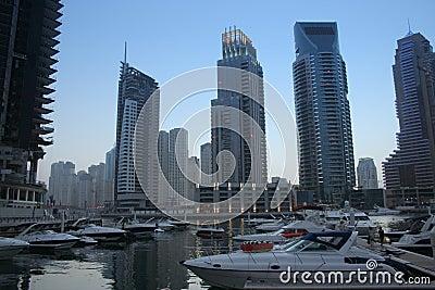Dubai Marina Skyscrapers, united arab emirates