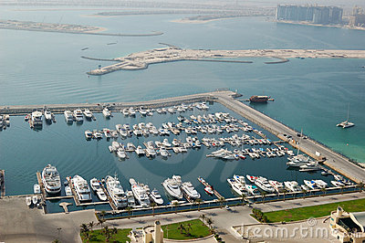 Dubai Marina yacht parking