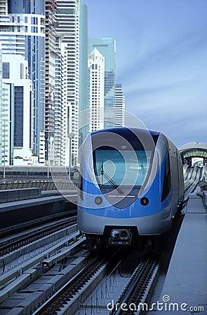 Dubai Metro Train