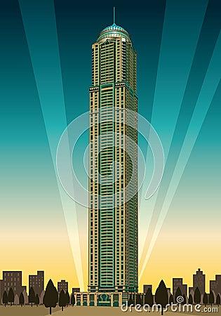 Dubai Princess Tower Editorial Stock Photo