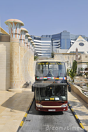 Dubai sightseeing bus