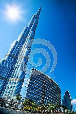 DUBAI, UAE. Burj Dubai