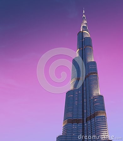 Free DUBAI, UAE-JUNE 1: Burj Khalifa The Highest Building Stock Photography - 31893602