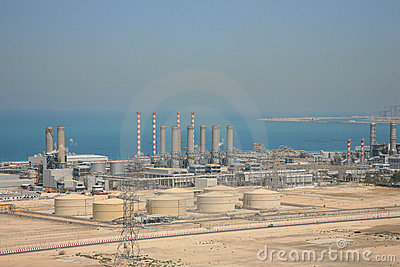 Dubai Water Supply Plant Stock Photography Image 5933402