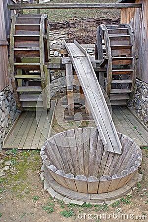 Dubbele watermill