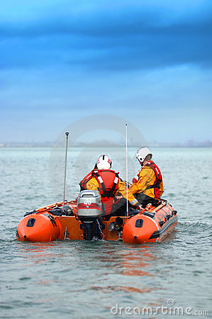 Dublin bay rescue boat