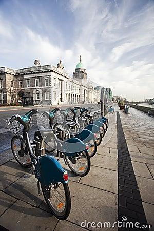 Dublin bikes Editorial Stock Photo