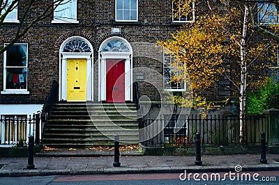 Dublin doors. Ireland